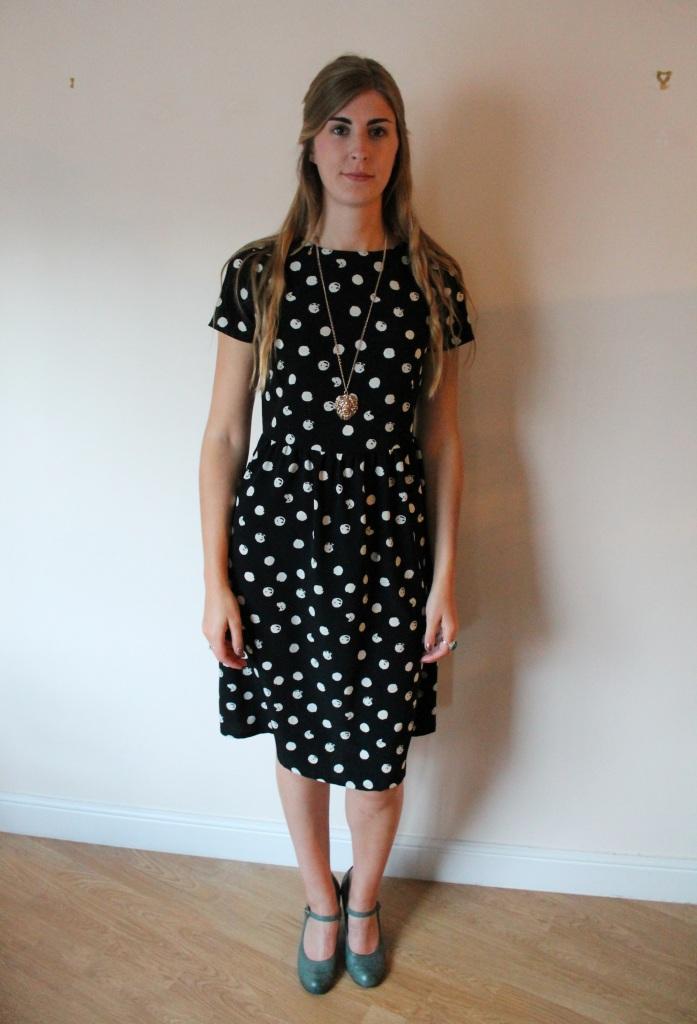 Polka dress 3