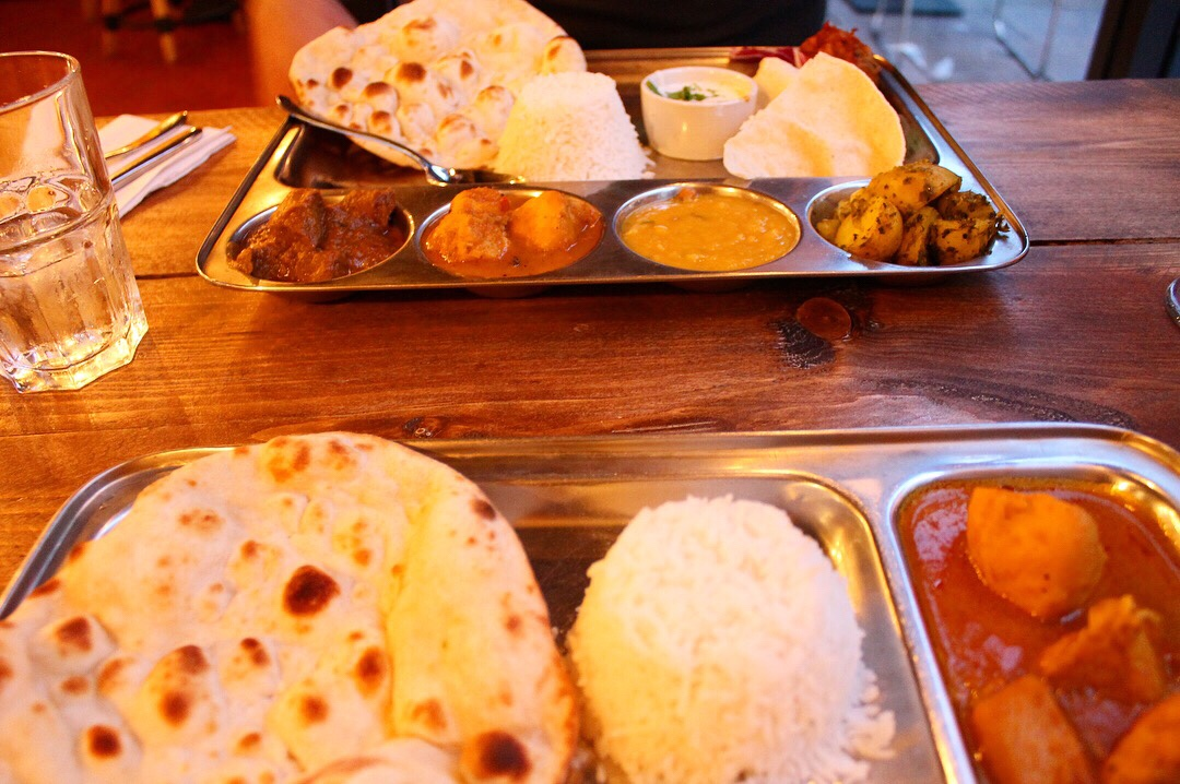 Thali at Chai Street, Cardiff Bay