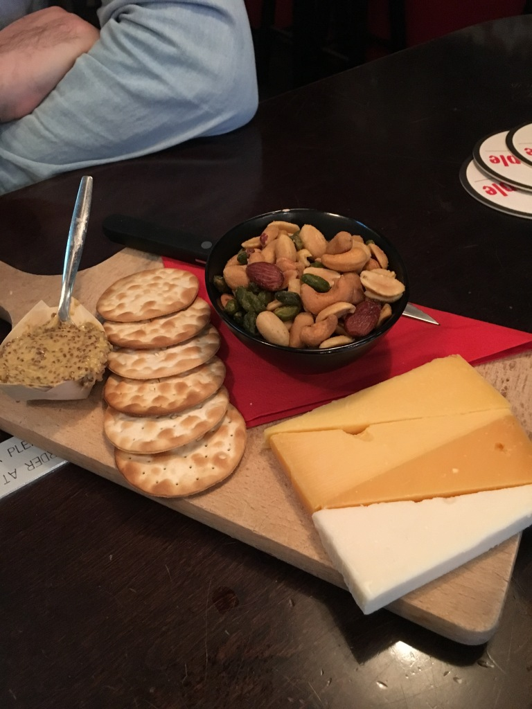 Cheese board, BeerTemple, Amsterdam