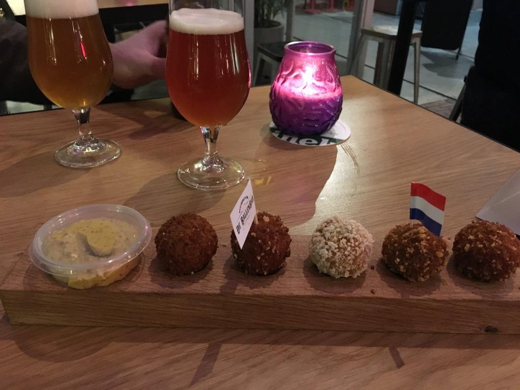 Bitterballen at Foodhallen, Amsterdam