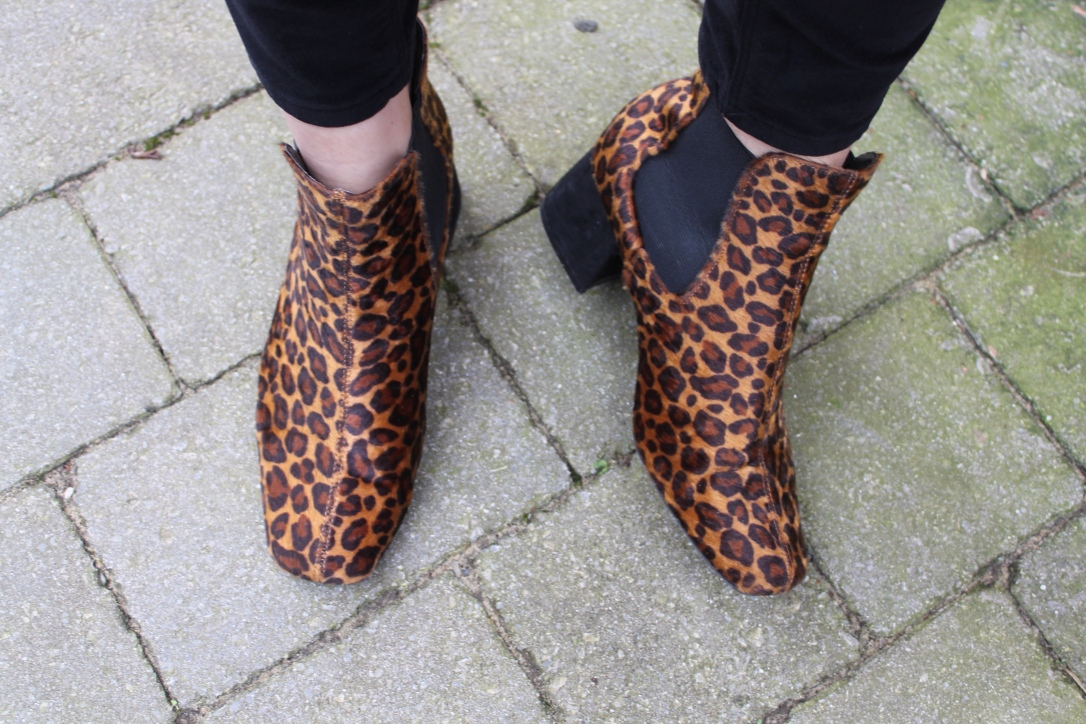Leopard Print Boots: Marks & Spencer, £35